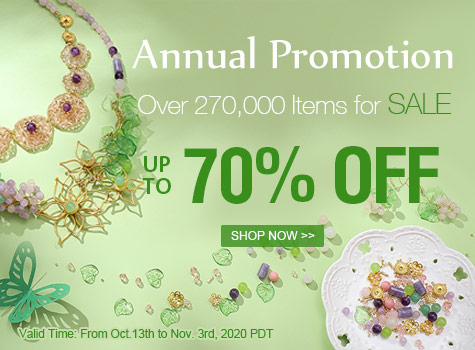 Annual Promotion. Up to 70% OFF