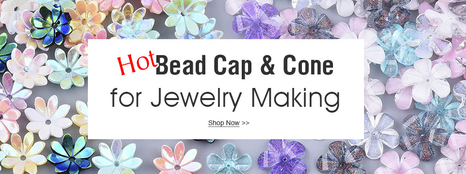 Hot Bead Cap&Cone for Jewelry Making