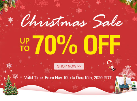 Christmas Sale Up to 70% OFF