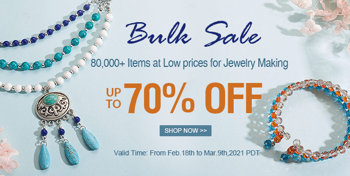 Up to 70% OFF on Beads