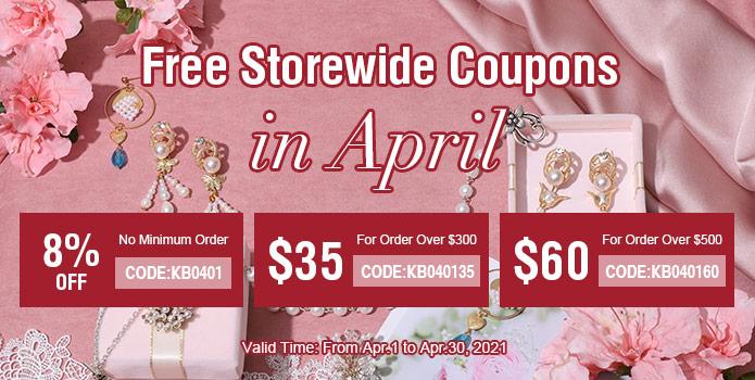 Free Coupons in April