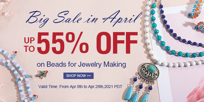 Up to 55% OFF on Beads for Jewelry Making