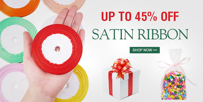 Up to 45% OFF Satin Ribbon