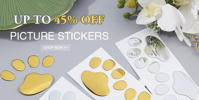 Up to 50% OFF Picture Stickers