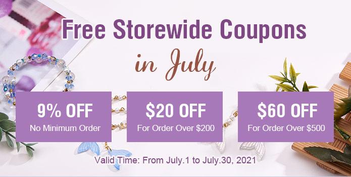 Free Coupons in June