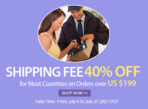 40% Shipping Fee