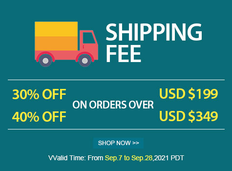 Up to 40% OFF Shipping Fee Discount