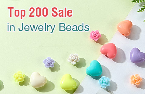 Top 200 Sale in Jewelry Beads