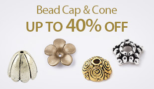 Up To 40% OFF Bead Cap & Cone