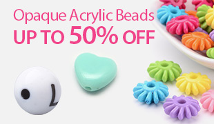 Up To 50% OFF Opaque Acrylic Beads