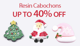 Up To 40% OFF Resin Cabochons