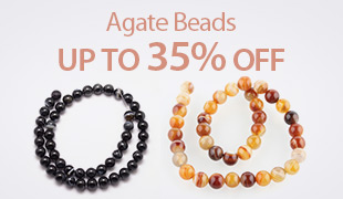 Up to 35% OFF Agate Beads