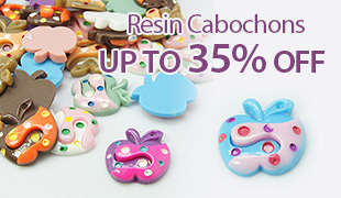 Up to 35% OFF Resin Cabochons