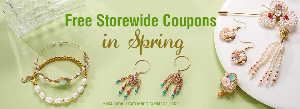 Free Storewide Coupons in Spring