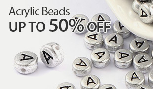 Up to 50% OFF Acrylic Beads