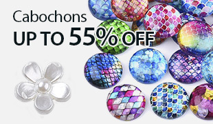 Up to 55% OFF Cabochons