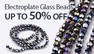 Up to 55% OFF Electroplate Glass Beads
