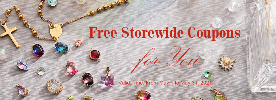 Free Storewide Coupons in April
