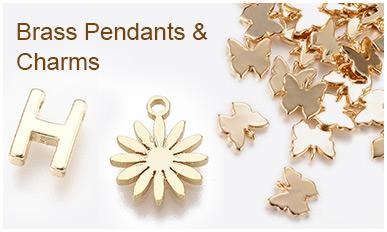 Brass Pendants & Charms