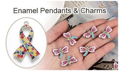 Enamel Pendants & Charms