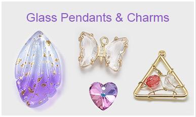 Glass Pendants & Charms