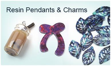Resin Pendants & Charms