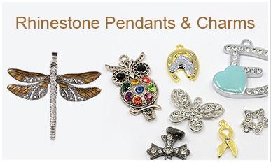 Rhinestone Pendants & Charms