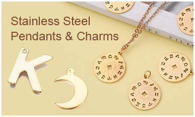 Stainless Steel Pendants & Charms