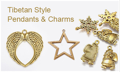 Tibetan Style Pendants & Charms