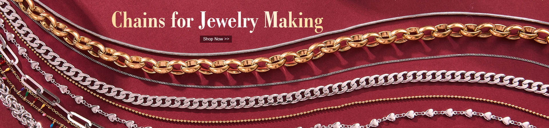 Chains for Jewelry Making