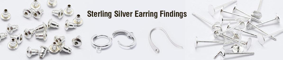Sterling Silver Earring Findings
