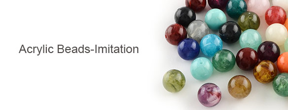 Acrylic Beads-Imitation