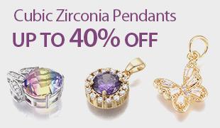 Up To 40% OFF Cubic Zirconia Pendants