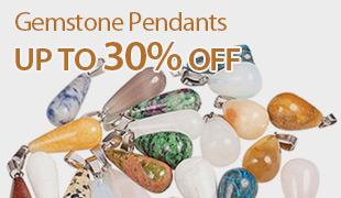 Up To 30% OFF Gemstone Pendants