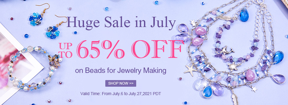 Huge Sale in July Up To 65% OFF on Beads