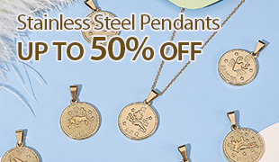 Up To 50% OFF Stainless Steel Pendants